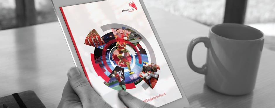 Creation of an online Annual Report on behalf of the sports national governing body.