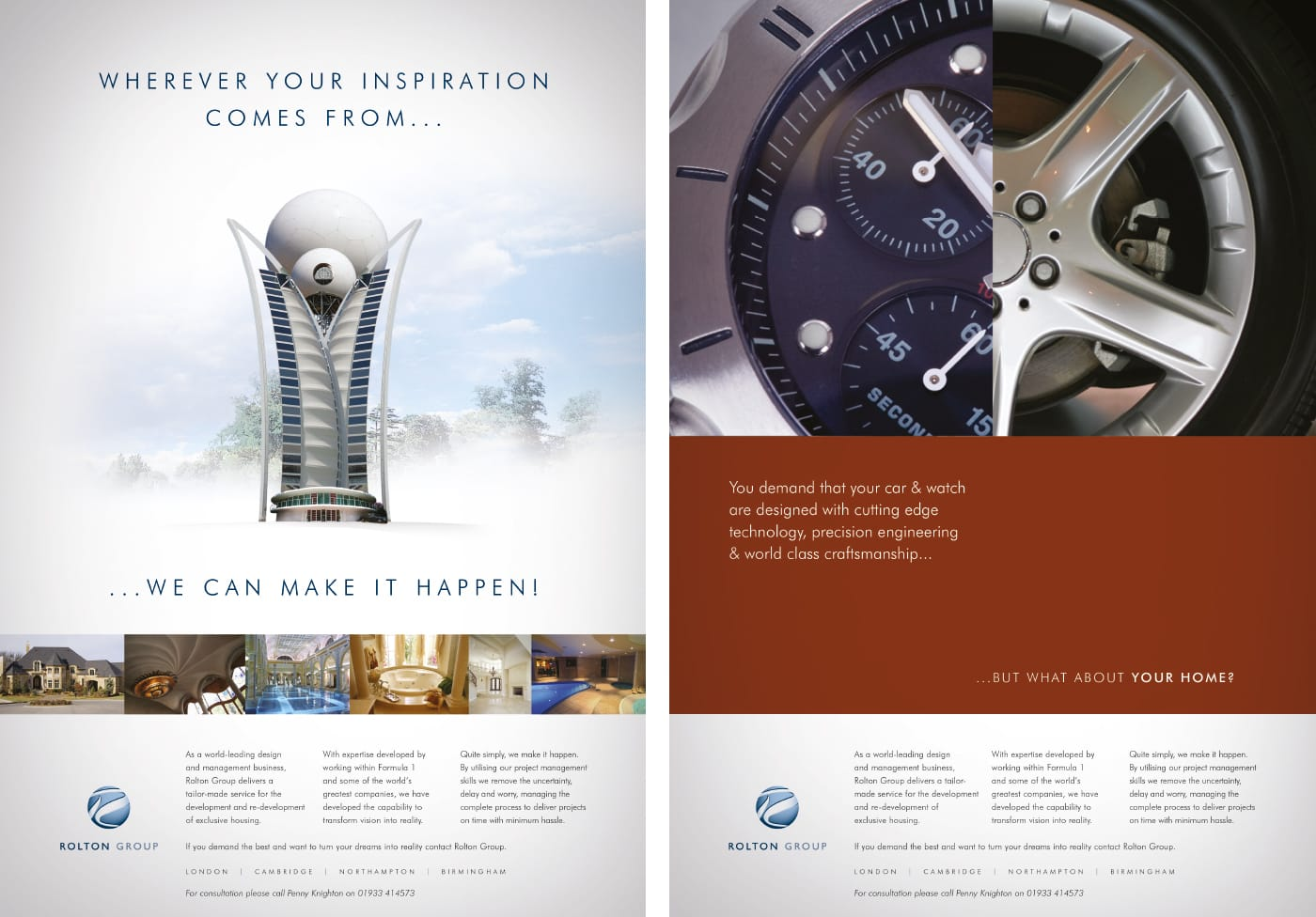 Press advertising campaign created on behalf of a large independent engineering group.