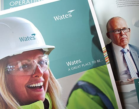 Creation of a suite of property related brochures on behalf of one of the UK's largest construction companies.