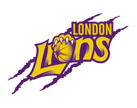 Brand creation for London's professional basketball team.