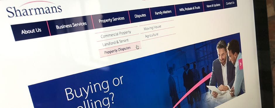 Complete rebranding project including website creation for an established and independent solicitors.