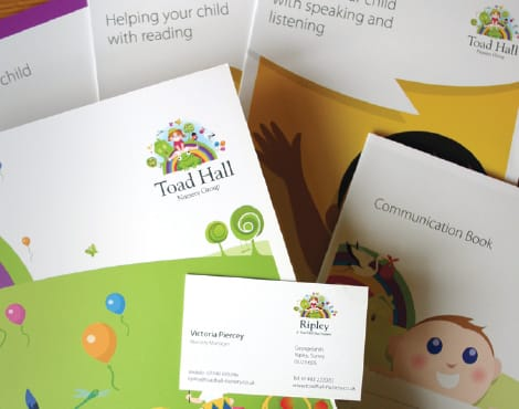 Creation of a comprehensive suite of sales & marketing materials on behalf of a nationwide nursery group.