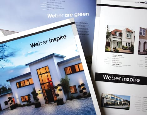 Creation of a suite of product specific brochures on behalf of one of the worlds largest companies.