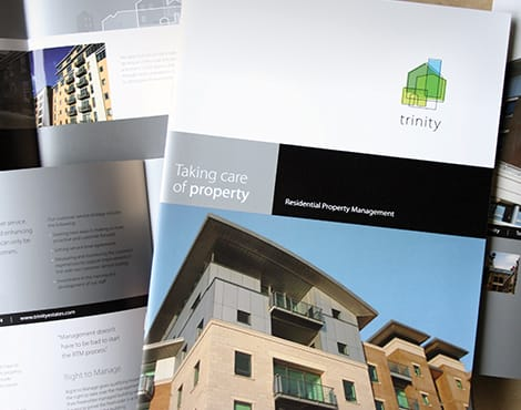 Creation of a suite of sales and marketing documents on behalf of a national property management company.