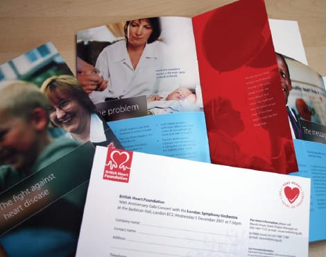 Creation of a fund raising brochure and related materials on behalf of a national charity.