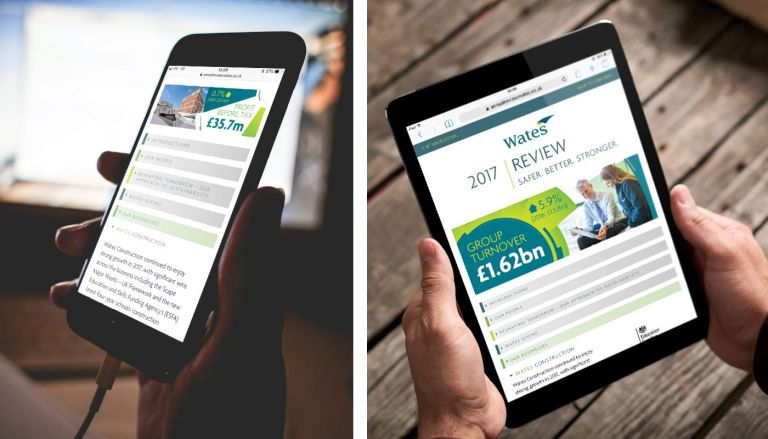 Wates Annual Review Online