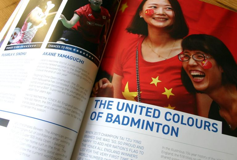 The United Colours of Badminton article