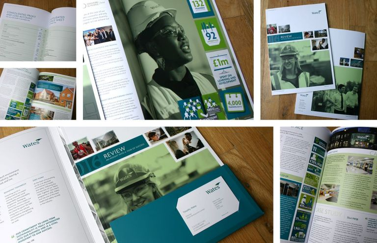 Wates annual report in print